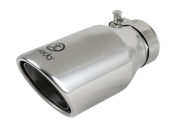 "AFE aFe Takeda 2-1/2"" 304 Stainless Steel Exhaust Tip 49T25404-P08"