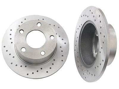 Zimmerman Rear Rotors (Cross-Drilled) | FWD Passat 98-05 4A0615601A_X_qty2