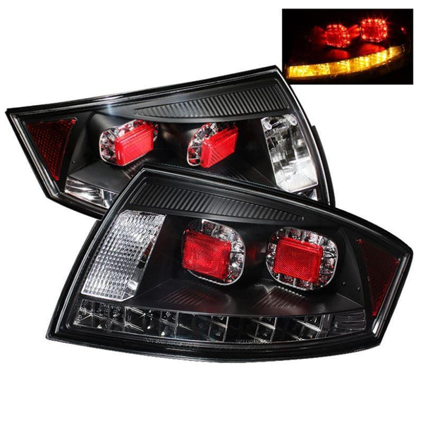 Spyder Spyder Audi TT 00-06 LED Tail Lights - Black 5000422