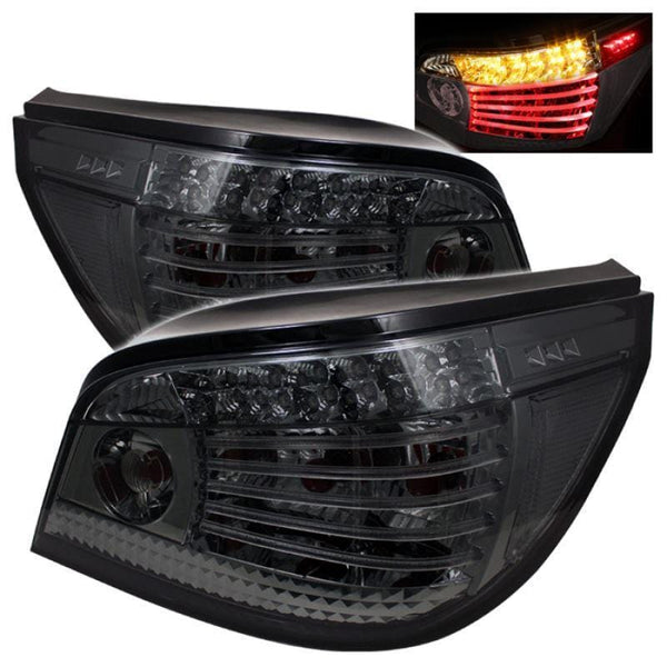 Spyder Spyder BMW E60 5-Series 04-07 LED Tail Lights - Smoke 5000880