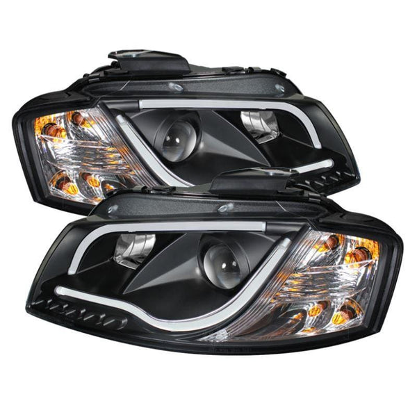 Spyder Spyder Audi A3 06-08 Projector Headlights   - Black 5071934