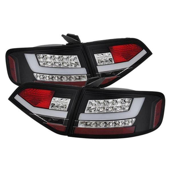 Spyder Spyder Audi A4 09-12 4Dr LED Tail Lights - Black 5073976