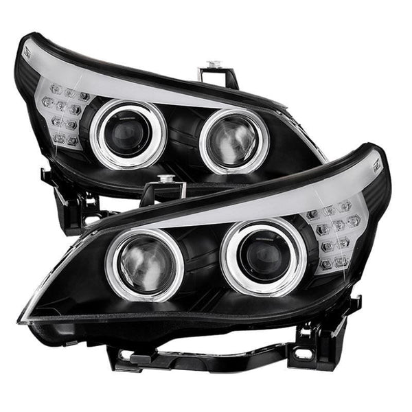 Spyder Spyder BMW E60 5-Series 04-07 Projector Headlights - Black 5074065