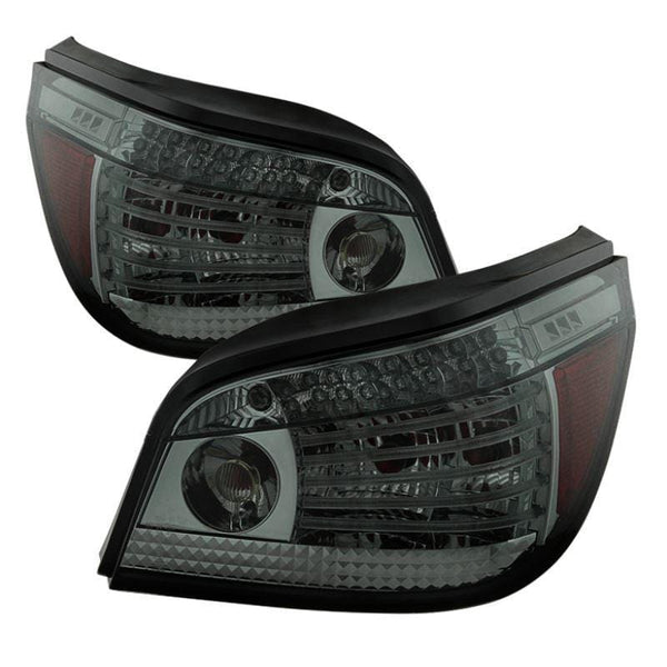 Spyder Spyder BMW E60 5-Series 08-10 LED Tail Lights - Smoke 5081636