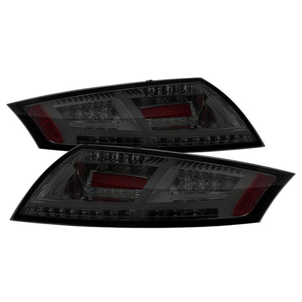 Spyder Spyder Audi TT 08-14 LED Tail Lights - Smoke 5081681