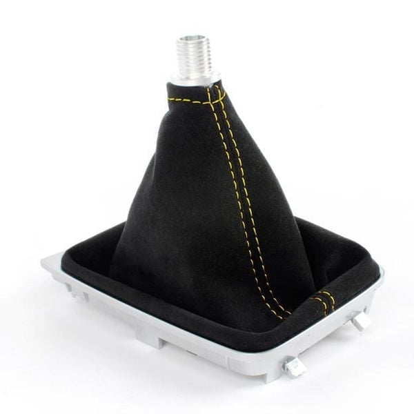 BFI BFI MK7 DSG / Automatic Shift Boot - Alcantara (YELLOW STITCHING) 5234-5G-235