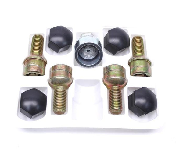 VW/Audi Wheel Locks OEM VW Kit | 4-Lug 12x1.5 535698137A