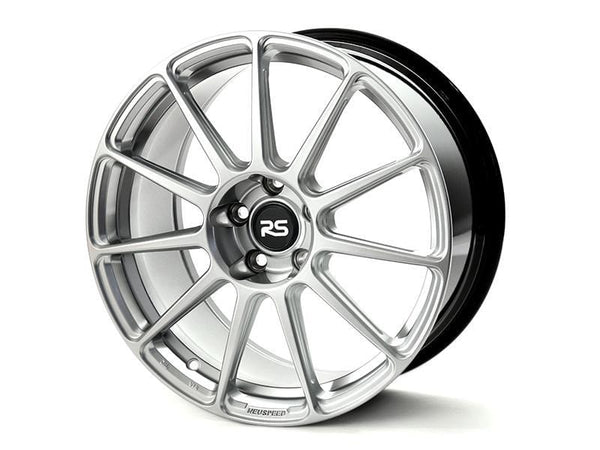 "Neuspeed Wheels 18x8.5 et34 5x100 57.1cb Neuspeed RSe11R Light Weight 18"" Wheels - Hyper Silver 88.112.02HS"