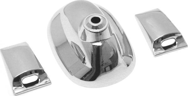 URO Parts Chrome Antenna Base/Washer Covers 971061-URP