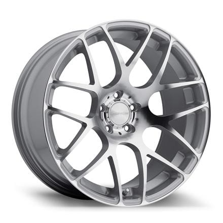 "Avant Garde 20x8.5 - 5x112 et32 - 66.56mm hub Avant Garde M310 Wheel | 20"" Machined Silver AG-M310-20-MS"