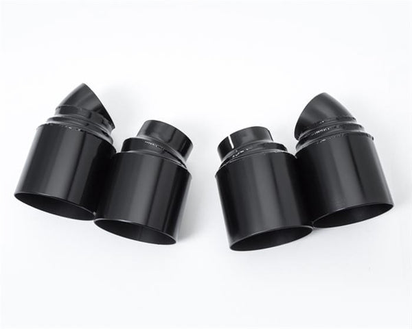Agency Power Matte Black Agency Power Quad GT2 Style Exhaust Tips - 991 | Turbo AP-991TT-171
