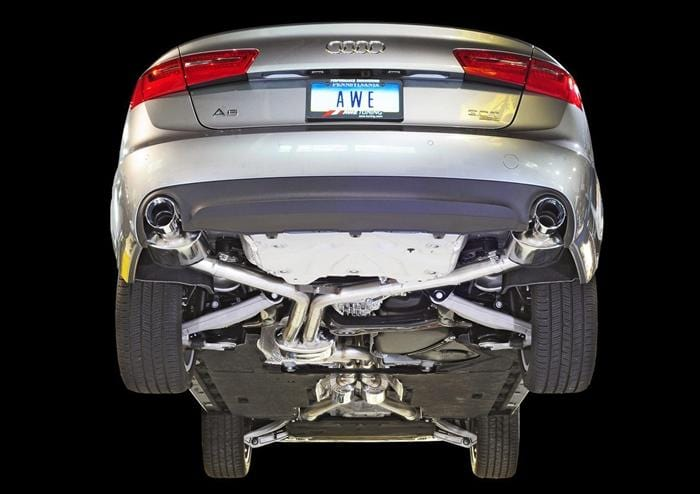 new product 06456 de6c1 AWE Tuning C7 Audi A6 3.0T Touring Edition Exhaust