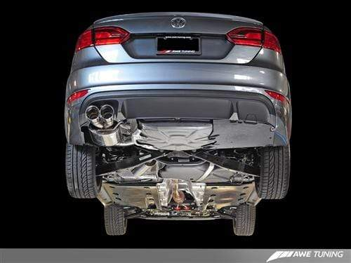 AWE Tuning Track Edition / Chrome Silver AWE Tuning Cat Back Exhaust | Mk6 Jetta 1.8T/2.0T 3020-22026