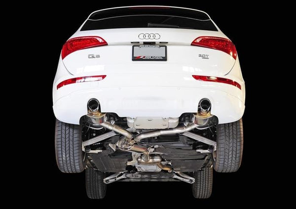 AWE Tuning Chrome Silver AWE Tuning Audi Q5 2.0T Touring Edition Exhaust 3015-32026