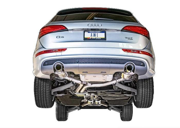 AWE Tuning Chrome Silver AWE Tuning Audi Q5 3.0T Touring Edition Exhaust 3015-32050