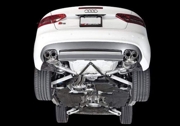 AWE Tuning Non-Resonated / Chrome Silver AWE Tuning B8 Audi S5 Cabrio 3.0T Touring Edition Exhaust 3415-42034