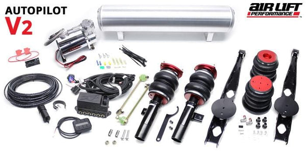Urostance Air Lift Kit w/ AutoPilot V2 Digital Controls | BMW E9X & E8X RWD BAG_E9X_AutoPilotFullKit