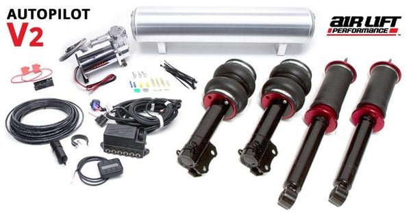 Urostance Air Lift Kit w/AutoPilot v2 Digital Management | R55 | R56 | R57 | MINI BAG_Gen2R5_Digital_AutoPilotV2