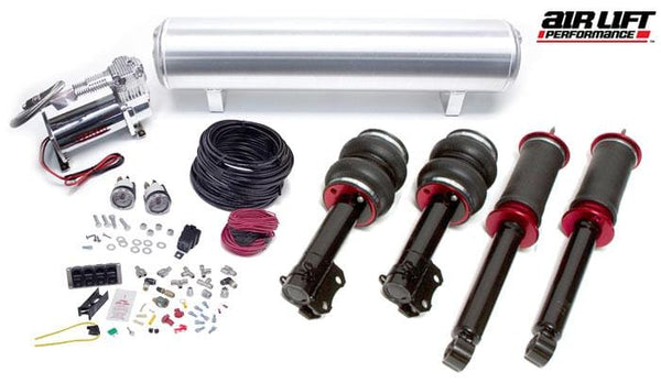 Urostance Air Lift Kit w/Manual Controls | R55 | R56 | R57 | MINI BAG_Gen2R5X_ManualFullKit