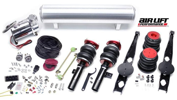 Urostance Air Lift Kit w/Manual Controls | BMW E9X & E8X RWD BAG_E9X_ManualKIT