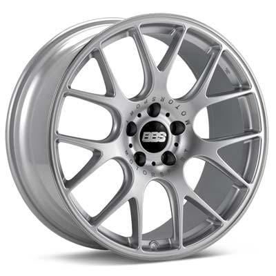 "BBS 20x8.5 et40 BBS CH-R (Bright Silver w/Polished Stainless Lip) | 5x112 20"" BBS_CH-R_SilverPSL_5x112_20"