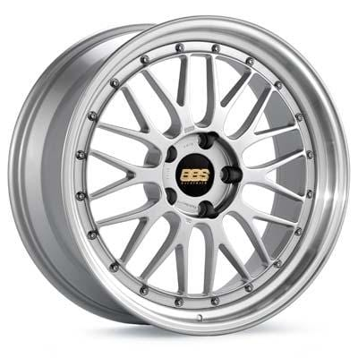 "BBS 19x8.5 et32 BBS LM (Silver with Machined Lip) | 5x112 19"" BBS_LM_SilverMach_5x112_19"