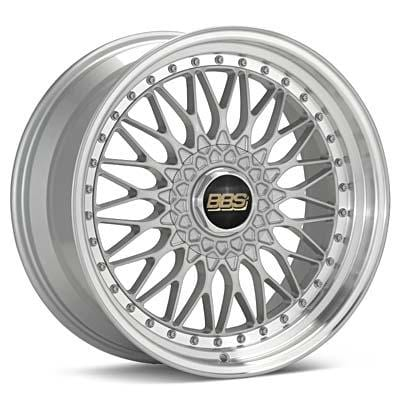 "BBS 19x8.5 et48 BBS Super RS (Silver with Machined Lip) | 5x112 19"" BBS_SRS_Silver_5x112_19"