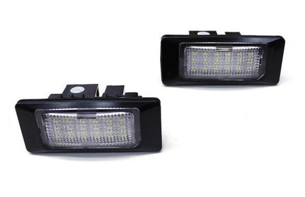 emK LED License Plate Light - Mk6 Jetta | B7 Passat | B8 Audi A4 | A5 | Q5 BULB-VW-LED-J6-B7P-B8A4