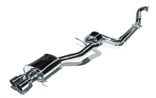 "CTS Turbo No, RACE PIPE CTS Turbo 3"" Turbo Back Exhaust 