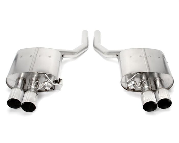Dinan Polished Stainless Steel Dinan Free Flow Axle-Back Exhaust for BMW | F0X | 750i D660-0038