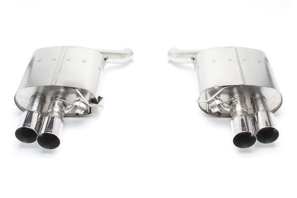 Dinan Polished Stainless Steel Dinan Free Flow Axle-Back Exhaust for BMW | F0X | F1X | 6-Series D660-0040