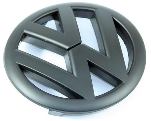 knu Gloss Black Emblem | Front Mk6 Golf | GTi and 2010+ JSW EMBLEM-VWG6-F