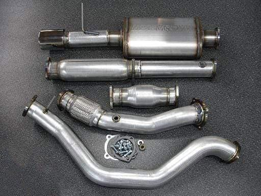 "42 Draft Designs 42 Draft VW Mk4 1.8T Turboback Exhaust System w/ 3"" Downpipe EX0418TB"
