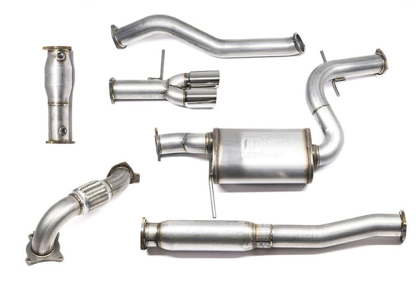 "42 Draft Designs 42 Draft VW Mk5 Jetta 2.0T FSi | TSi 3"" Turbo Back Exhaust System EX05JTTB"