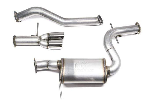 "42 Draft Designs 42 Draft Designs MK6 Jetta GLI 3"" Cat-Back Exhaust System X06JGCB"