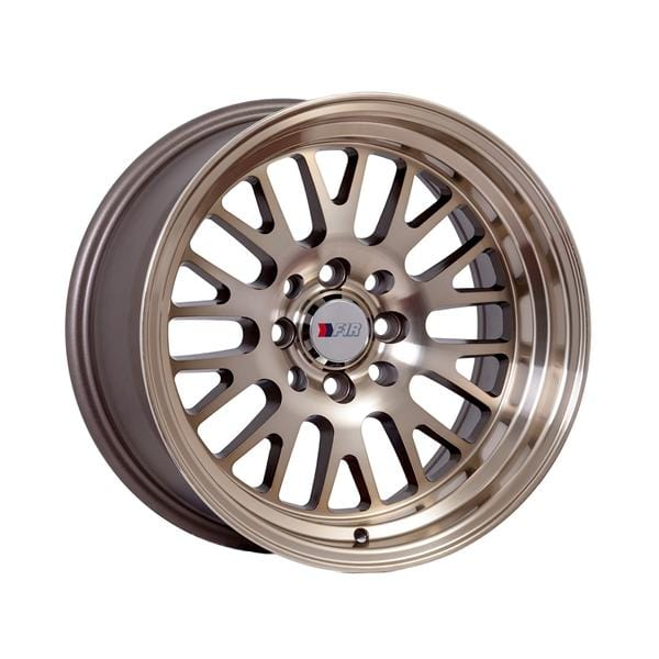 "F1R F04 15x8 ET0 4x100/114.3 Machined Bronze F1R F04 15"" Machined Bronze F04158BZ0"
