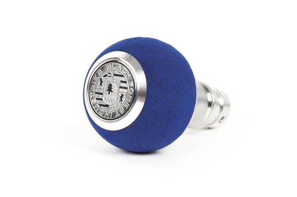BFI BFI Heavy Weight Shift Knob - Blue Alcantara (VW/Audi DSG & Automatic) GS2DGLU