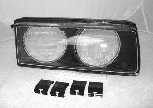 BMW E36 ZKW Headlights Lens - Glass Right Only