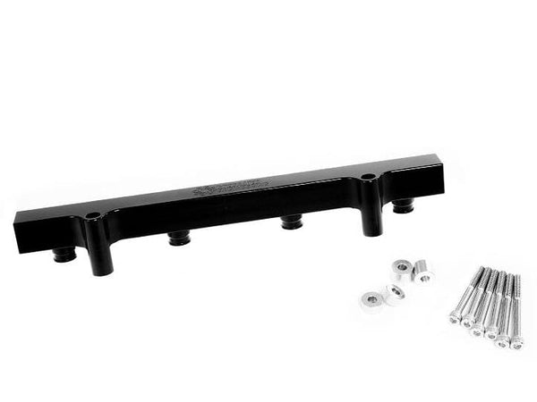 Integrated Engineering Black Anodized Fuel Injector Rail High Flow by IE | 1.8T IEFUVA1-BK