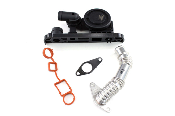 UroTuning Kits FSi PCV Emissions Breather Update Kit for Mk6 Golf R 06F129101R-KT-R