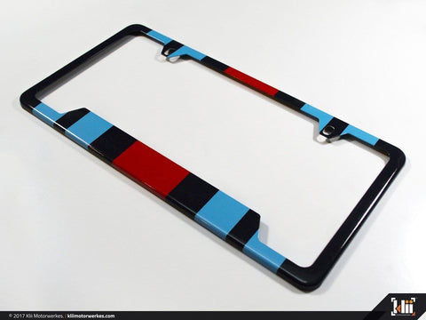 License Plate Frame (North America) - Racing Livery No.2
