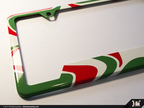 License Plate Frame (North America) - Racing Livery No.4