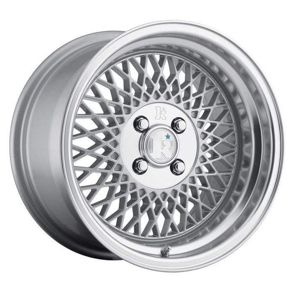"Klutch Wheels 15x8.5"" 4x100 cb73.1 et17 Klutch Wheels SL1 - 15"" (Silver) Klutch-SL1-15-SIL"