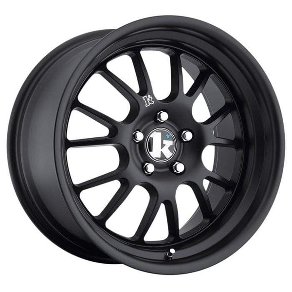 "Klutch Wheels 18x8.5"" 5x100 cb73.1 et35 Klutch Wheels SL14 - 18"" (Satin Black) Klutch-SL14-18-SB"