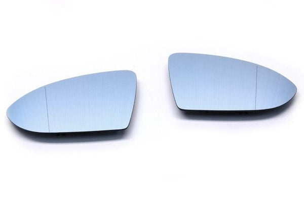 UroTuning Kits Blind Spot Split Mirror Set (Blue Tinted and Heated) | MK7 Golf | GTi | Golf R MK7-Mirrors