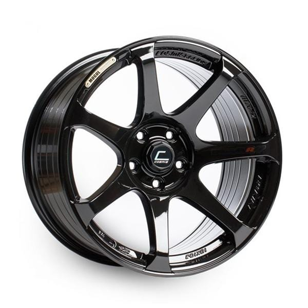 Cosmis Racing Cosmis Racing MR7 Black Wheel 18x10 +25mm 5x114.3 MR7-1810-25-5x114.3-B