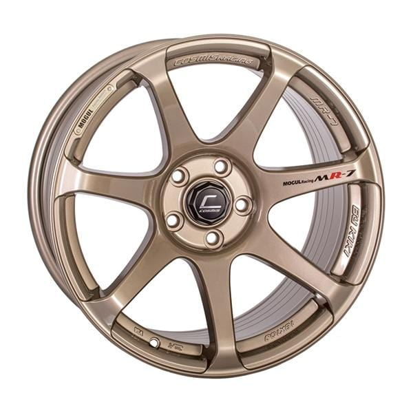 Cosmis Racing Cosmis Racing MR7 Bronze Wheel 18x10 5x114.3 +25mm Offset MR7-1810-25-5x114.3-BR