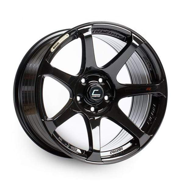 Cosmis Racing Cosmis Racing MR7 Black Wheel 18x9 +25mm 5x100 MR7-1890-25-5x100-B