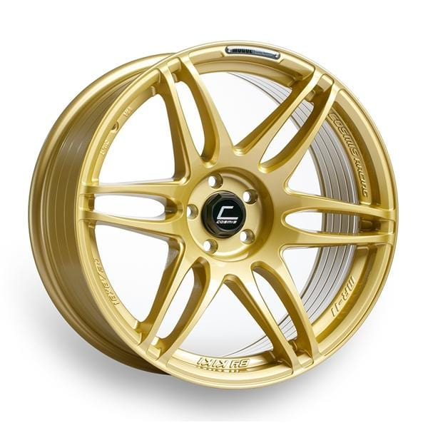 Cosmis Racing Cosmis Racing MRII Gold Wheel 18x8.5 +22mm 5x114.3 MRII-1885-22-5X114.3-G