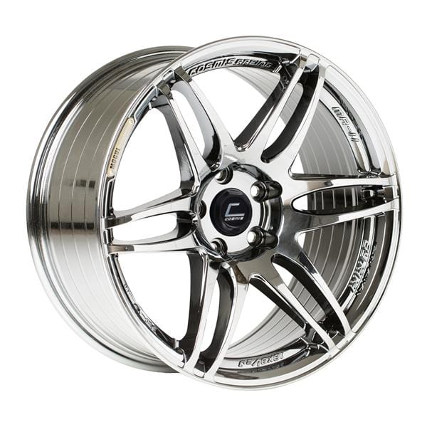 Cosmis Racing Cosmis Racing MRII Black Chrome Wheel 18x8.5 +22mm 5x100 MRII-1885-22-5x100-BC